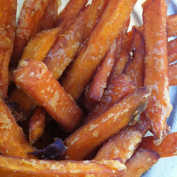 Sweet potato fries - Blush, Santa Barbara, CA
