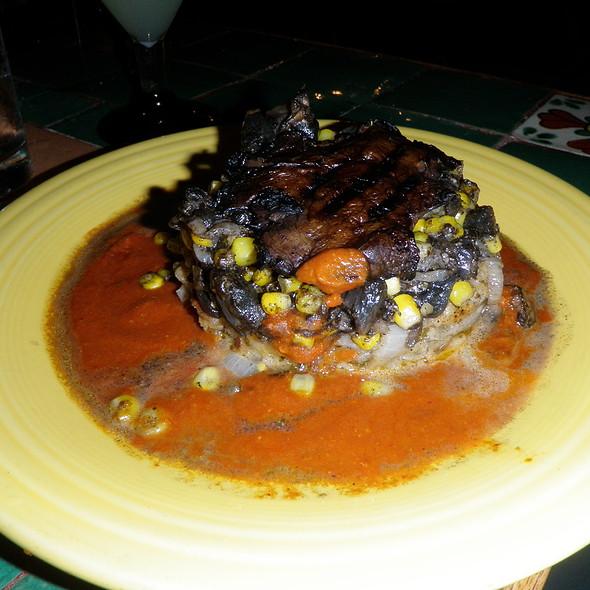 portabella relleno @ Blue Agave Restaurante Y Tqlr