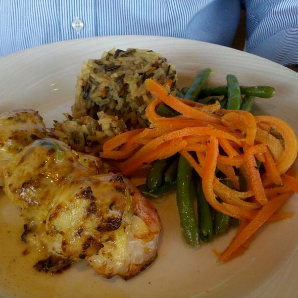 Crab Stuffed Shrimp @ Rusty Scupper Restaurant