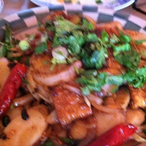 """Thrice-cooked """"Bacon"""" @ Mission Chinese Food"""