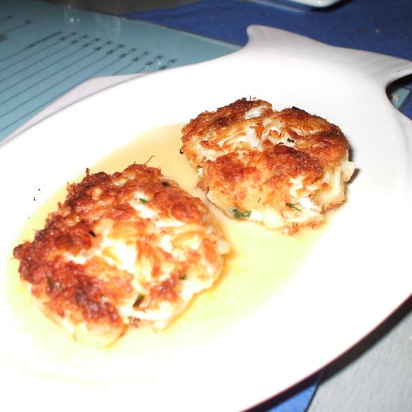 Crab Cakes @ Blue Fish