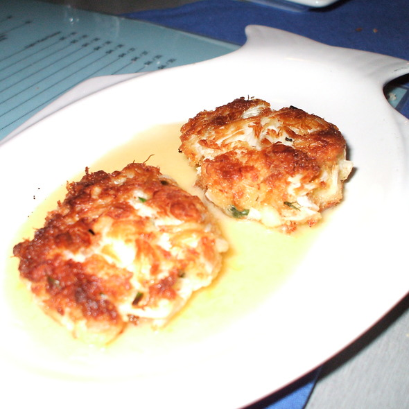 Crab Cakes @ Blue Fish