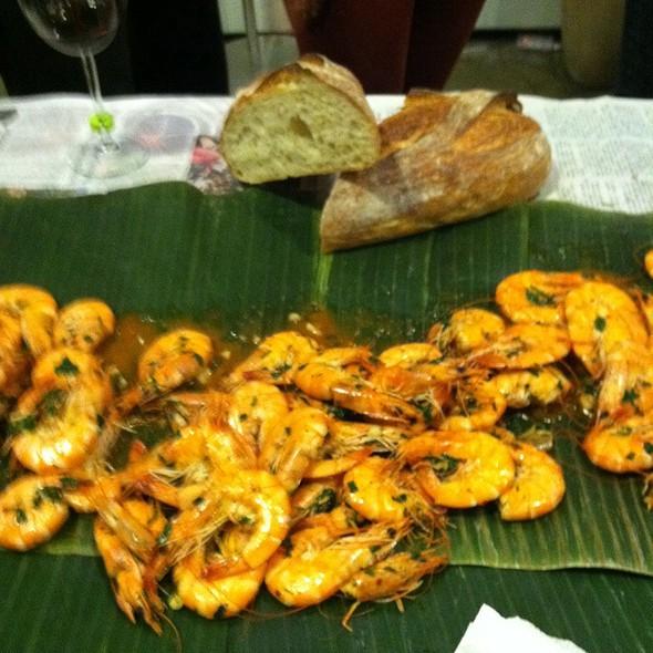 Wok fried shrimp @ Foodspotting HQ