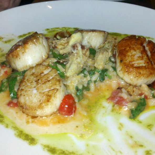 Seared Scallops @ Pesce Fresco