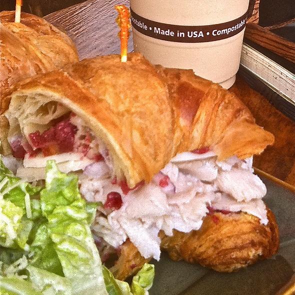 Turkey Croissant Sandwich @ Wailuku Coffee Company