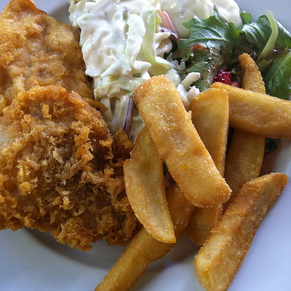 Fish and Chips - Mulligans on the Blue, Kihei, HI