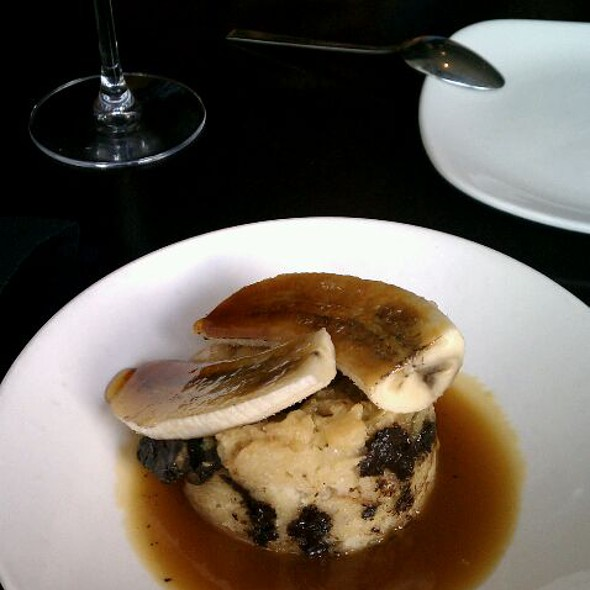 Dark Chocolate Banana Bread Pudding - Level Small Plates Lounge, Annapolis, MD