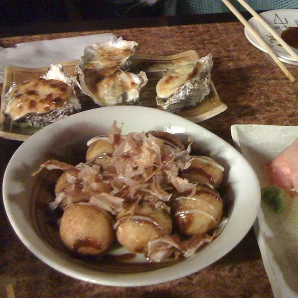 Takoyaki, Mayo Oysters @ Nishiki
