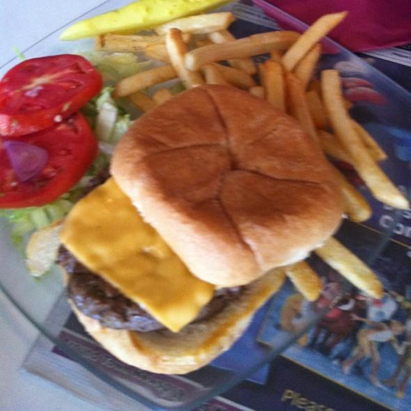 Cheeseburger - Fishtales Restaurant & Nightclub, Fort Lauderdale, FL