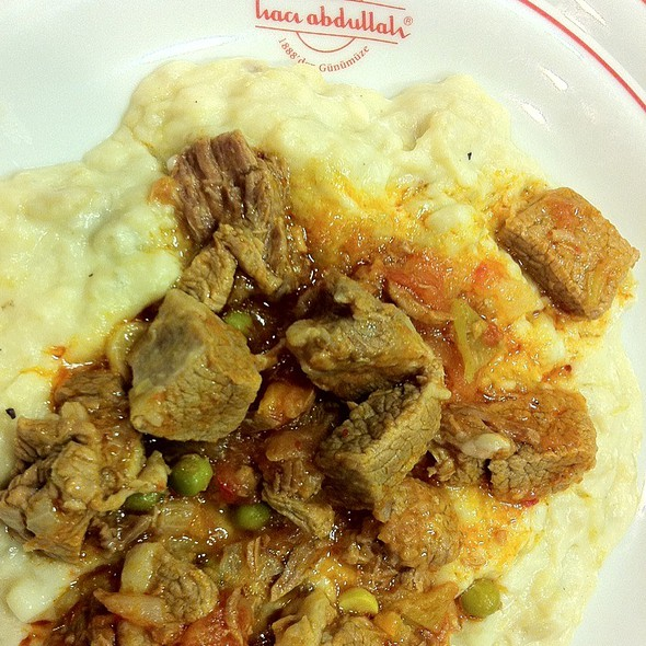 Lamb Stew In Bechamel Sauce @ Haci Abdullah Lokantasi