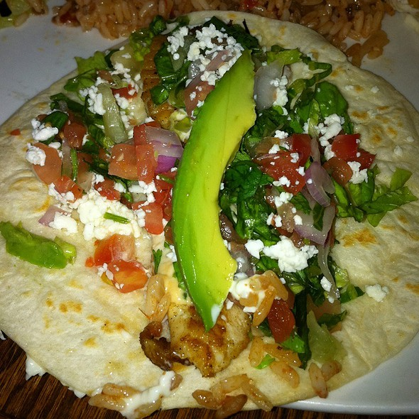 Tortillaria mexican kitchen menu st louis mo foodspotting for Baja fish tacos menu