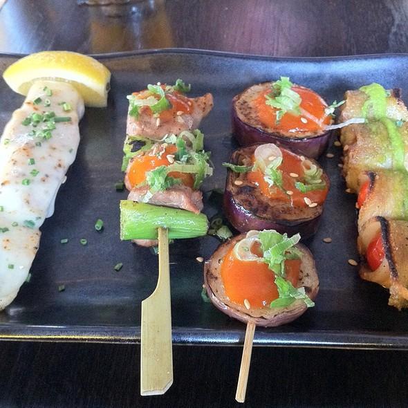 Robata Skewers - Basho Japanese Brasserie, Boston, MA