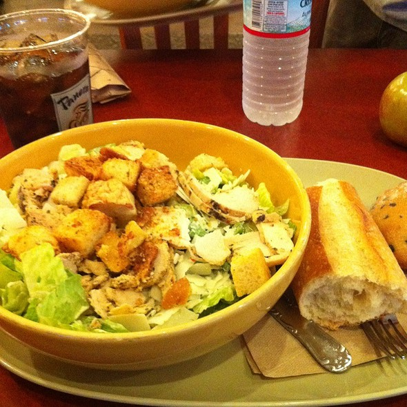 Chicken Caesar Salad @ Panera Bread