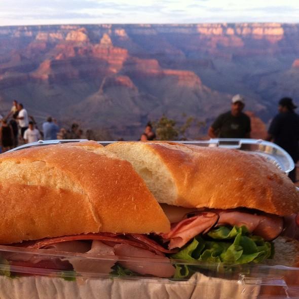 Turkey Sandwich @ Grand Canyon National Park