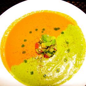 Red Pepper/Cilantro Soup