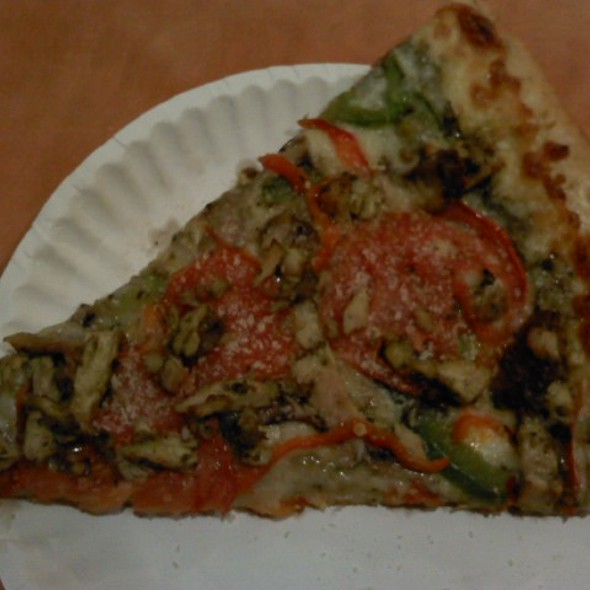 Chicken Pesto Pizza @ Blondies Pizza