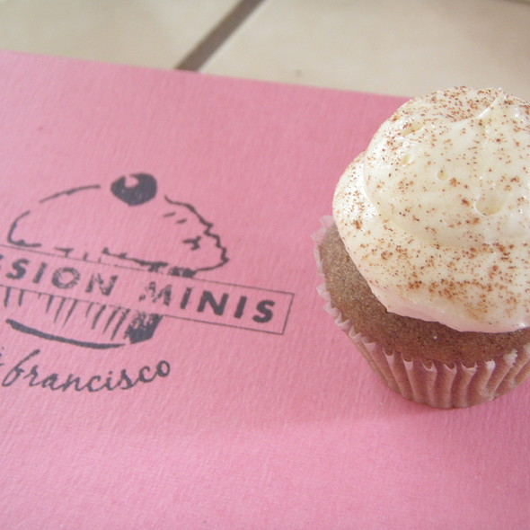 Cinnamon Horchata Cupcakes @ Mission Minis