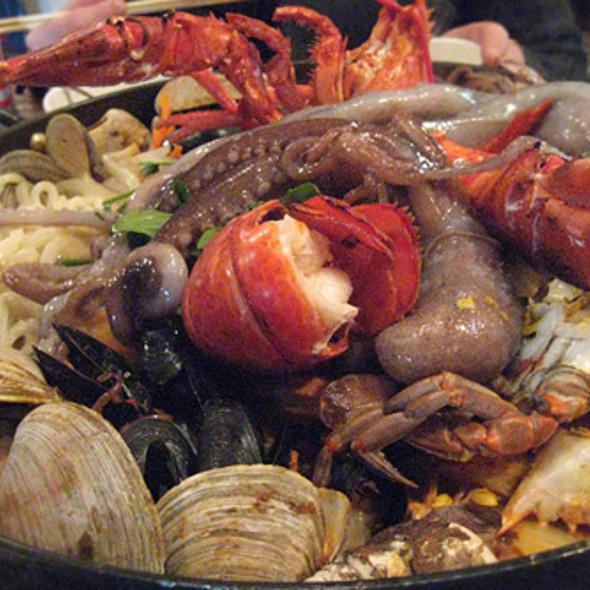 San Nakji Jogae Dol Pan @ Sik Gaek Restaurant