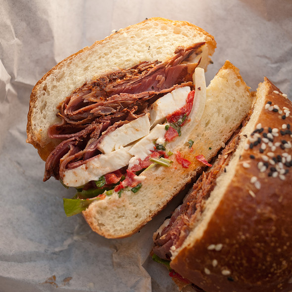 Tasso Sandwich @ The Sentinel