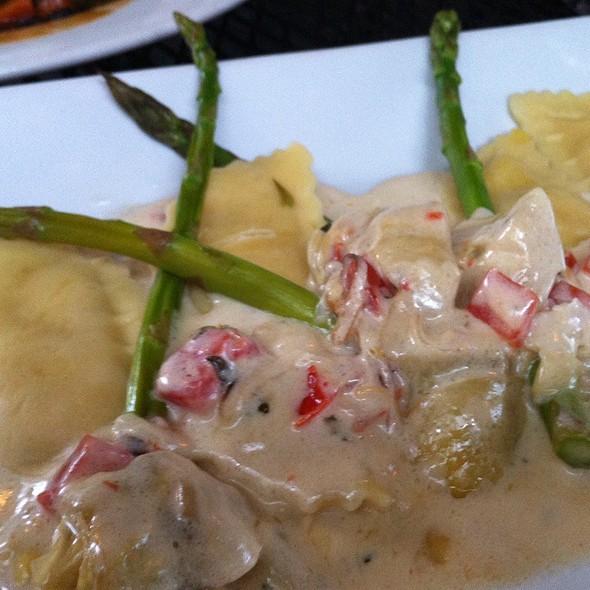 Butternut squash ravioli - Dada, Delray Beach, FL