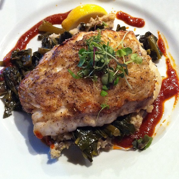 Onion Crusted Grouper - Boathouse at Breach Inlet, Isle Of Palms, SC
