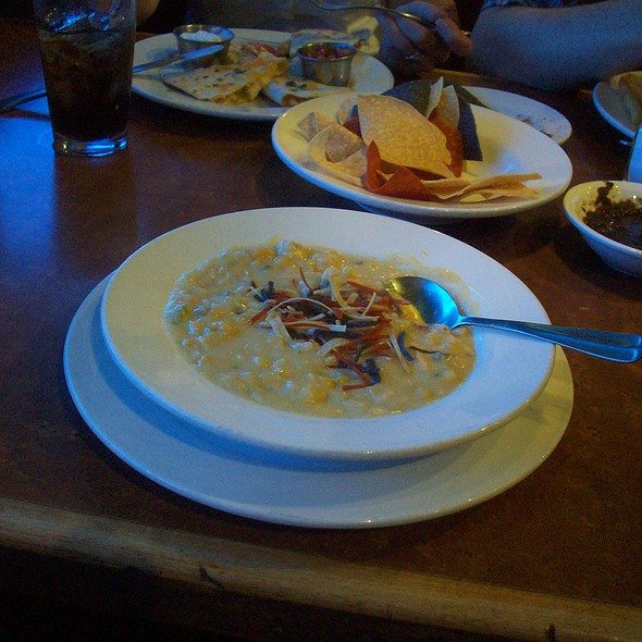 Green Chile Corn Chowder - Blue Adobe Grille - Scottsdale, Scottsdale, AZ