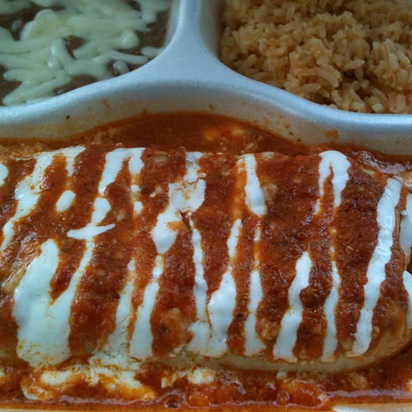 Wet Shrimp Burrito @ El Korita