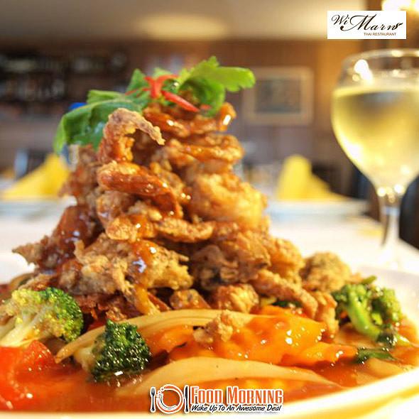 Poo Nim Rad Prik @ Wi Marn Thai Restaurant