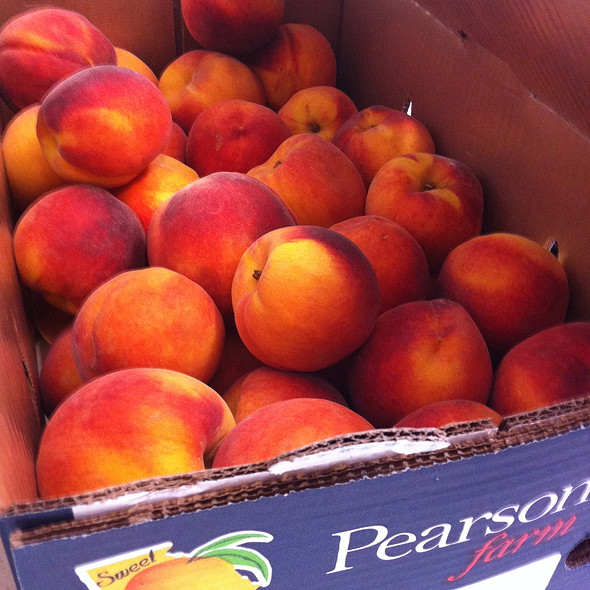 Pearson Farm Peaches @ Norcross Farmers Market