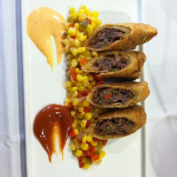 Philly Cheese Steak Spring Rolls @ The Tutored Chef At The Art Institute Of Tampa