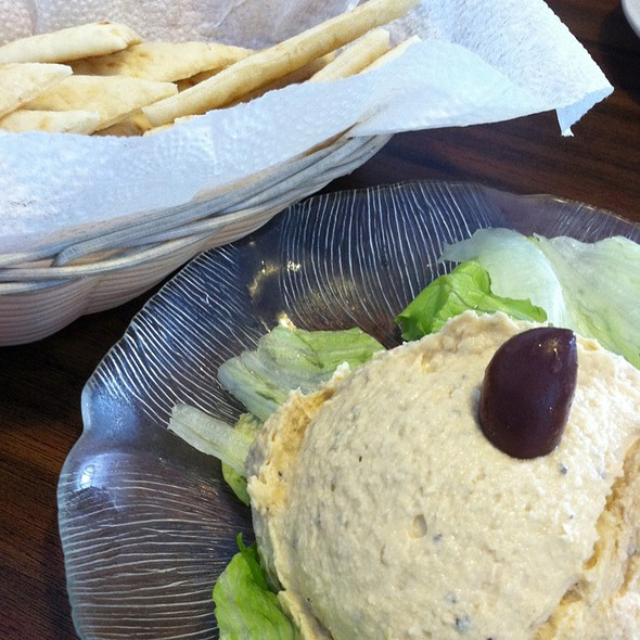 Hummus @ OPA CAFE