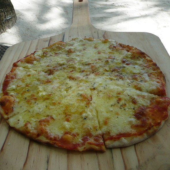 Four Cheese Pizza @ Ambassador in Paradise