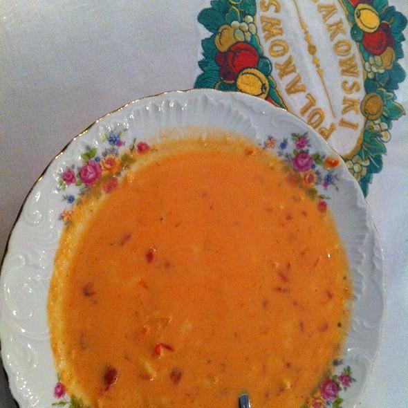 Pomidorowa @ Polakowski. Restauracja samoobsługowa