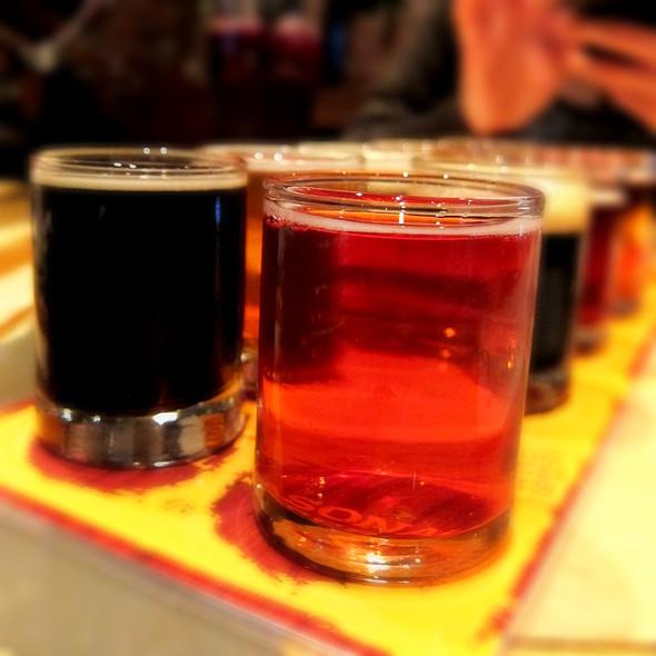 Beer Shots - Thirsty Bear, San Francisco, CA