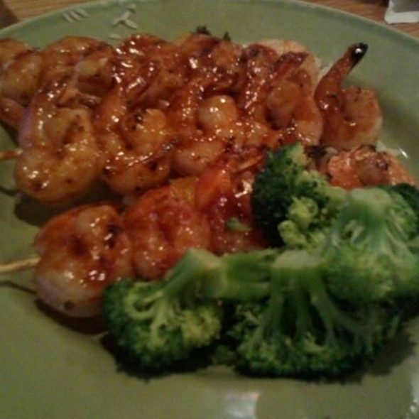 Grilled Shrimp And Island Rice
