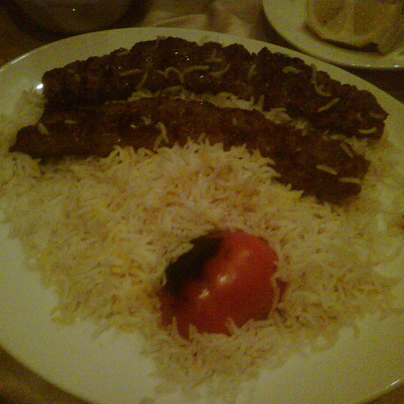 Chelo Kabab Kobideh