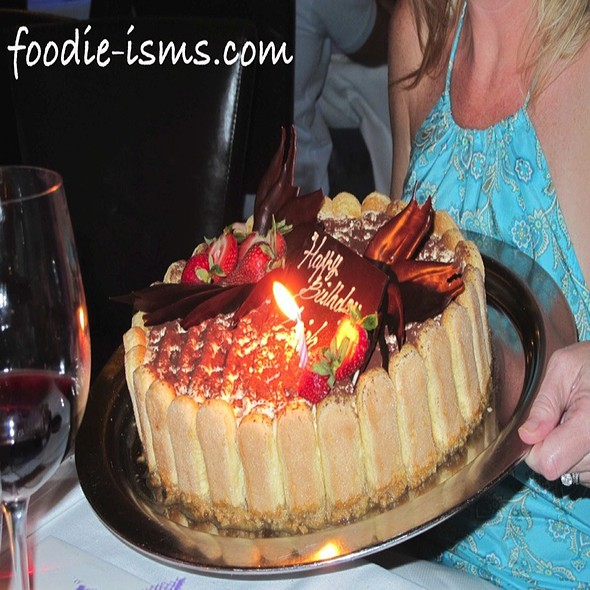 Tiramisu Cake - Café Milano, Washington, DC