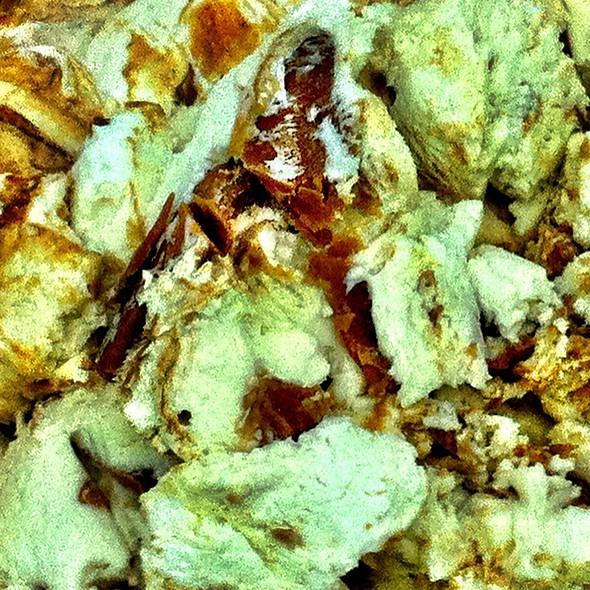Vanilla Peanut Butter Crunch Ice Cream @ Denville Dairy
