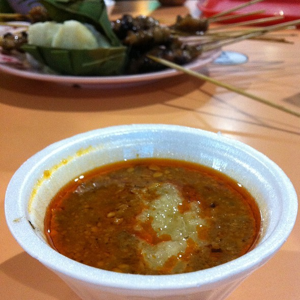 Peanut And Pineapple Satay Gravy @ Old Airport Road Hawker Center