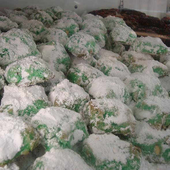 Pistachio Cookies @ Bova's Bakery