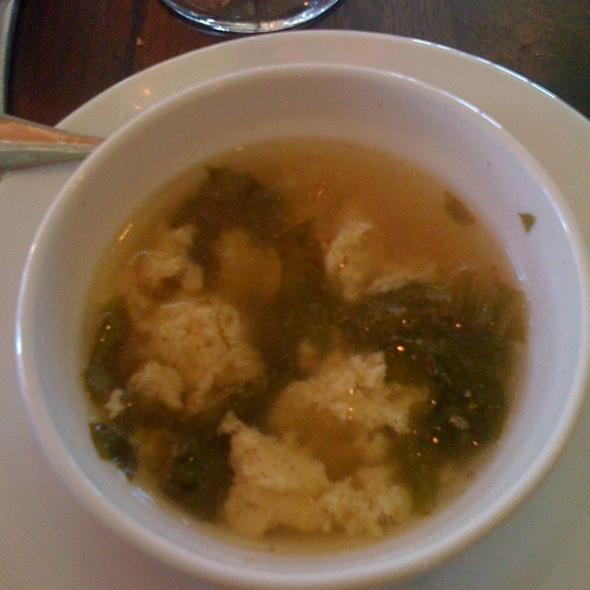 Stracciatella Soup - Capri Seaside Italian Grille, Salisbury, MA