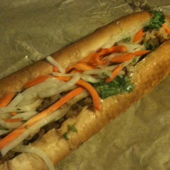 Honey Grilled Pork Banh Mi (Nom Nom, Los Angeles)