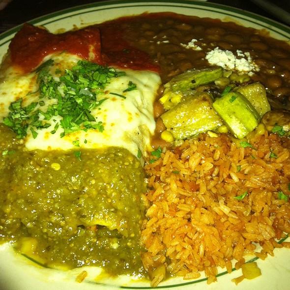 enchiladas - Laredos Grill, Seattle, WA