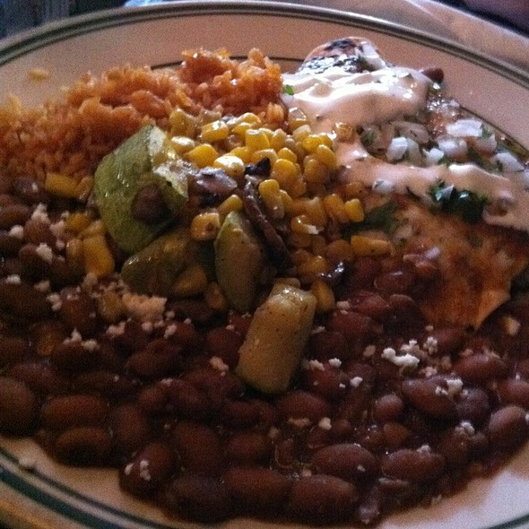 Chicken Mole - Laredos Grill, Seattle, WA