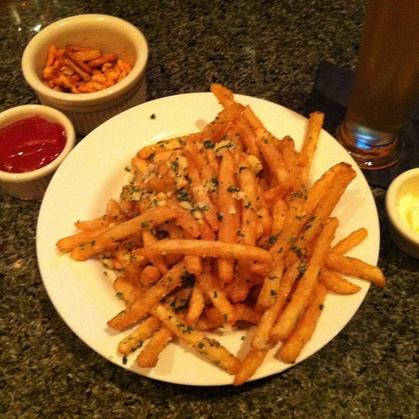 truffle fries with parmesan - Capitol ChopHouse, Madison, WI
