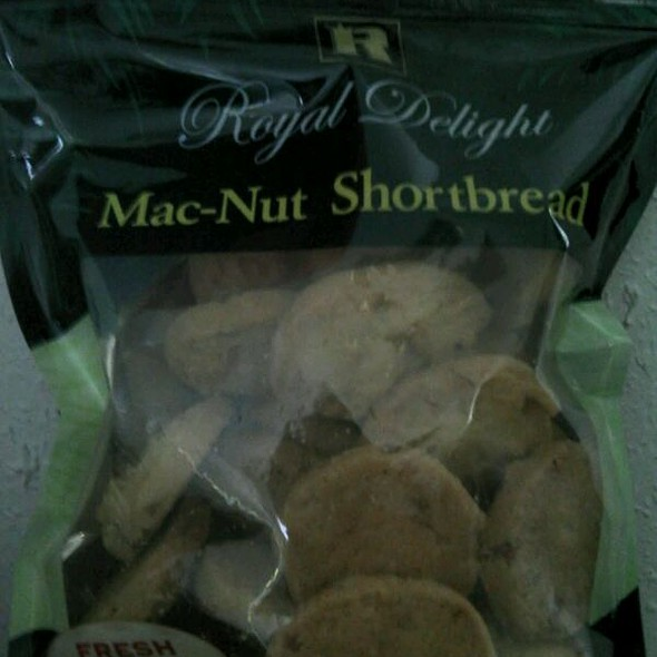 Mac-nut Shortbread @ Regal Bakery
