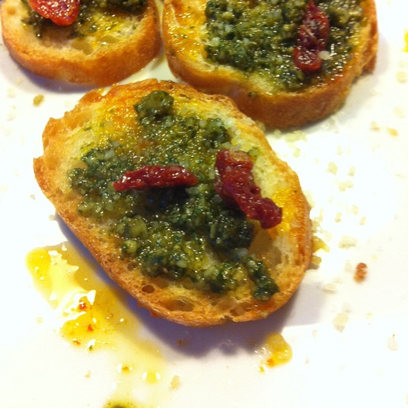 Sun Dried Pesto Bread @ Lucy's Kitchen