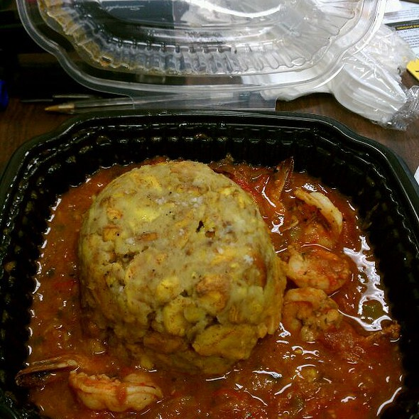 Mofongo Con Camarones @ Jimmy'z Kitchen