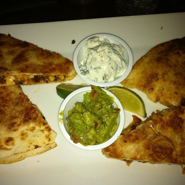 Grilled Chicken Quesadilla @ M.I. Greatroom Lounge