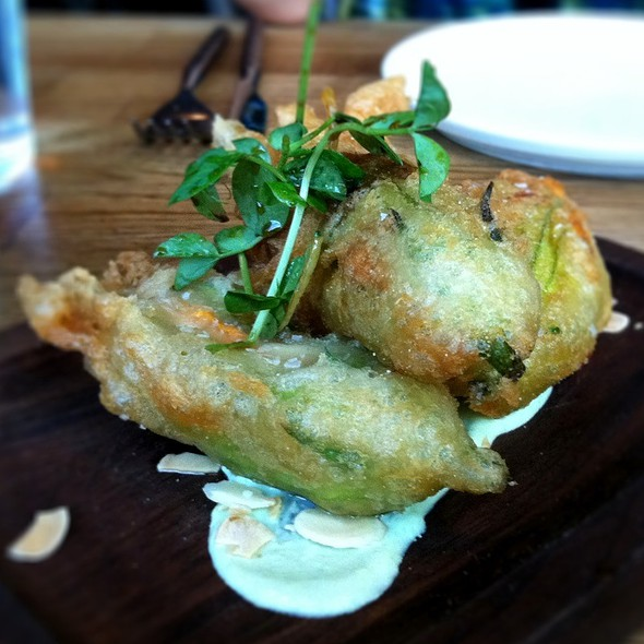 Squash Blossom Ragoon @ The Girl And The Goat